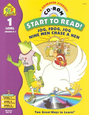 9780887435737: Jog, Frog, Jog (Start to Read, Level 1)