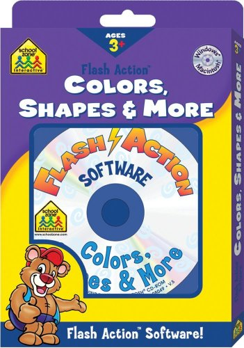 9780887436383: Colors, Shapes & More (Flash Action Software)