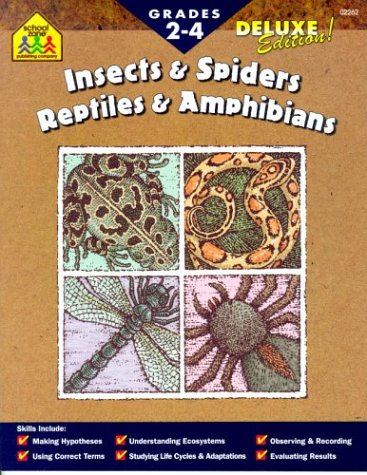 9780887438622: Insects and Spiders/Reptiles and Amphibians