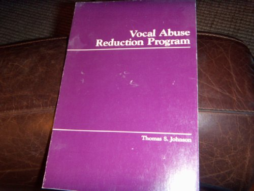 9780887441349: Vocal Abuse Reduction Program