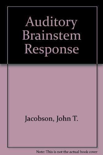 9780887442681: Auditory Brainstem Response