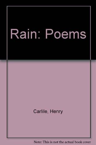 9780887481666: Rain: Poems