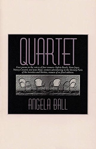 Quartet (Carnegie Mellon Poetry Series): Angela Ball