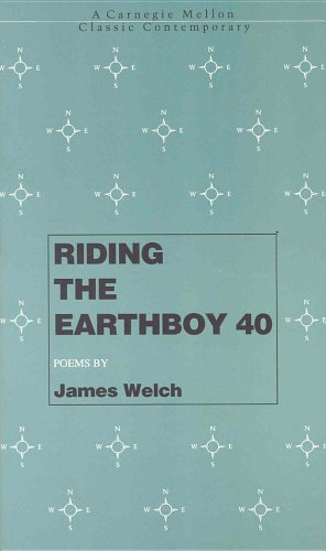9780887482649: Riding the Earthboy 40 (Carnegie Mellon Classic Contemporary)