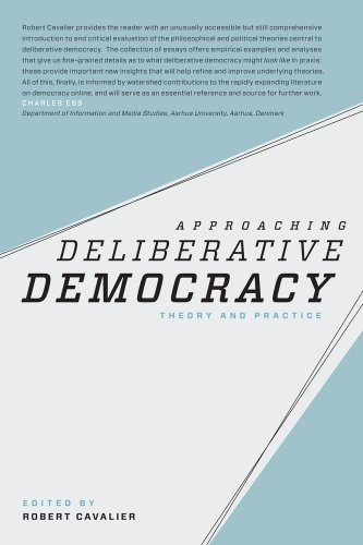 9780887485374: Approaching Deliberative Democracy: Theory and Practice (Carnegie Mellon Political Science)