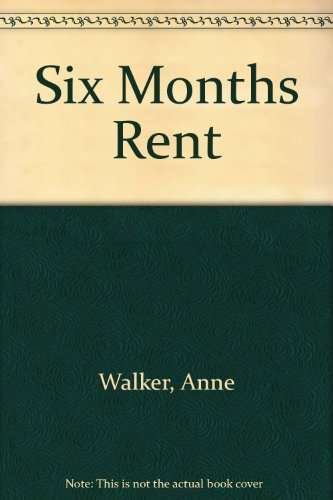 9780887532207: Six Months Rent