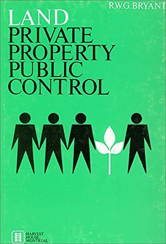 9780887721274: Land: Private Property, Public Control (NONE)