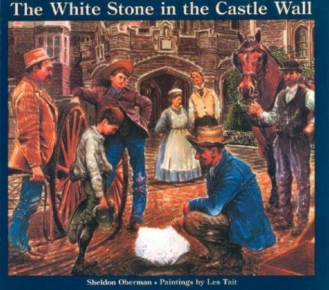 9780887763335: The White Stone in the Castle Wall