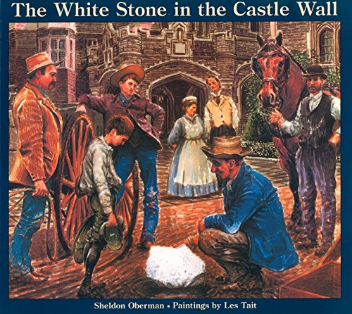 9780887763861: The White Stone in the Castle Wall