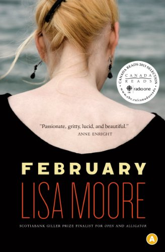February (Signed First Edition; First Printing): Moore, Lisa