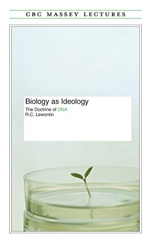 9780887845185: Biology As Ideology (Cbc Massey Lectures Series)