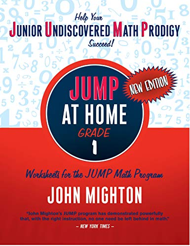 9780887849701: JUMP at Home, Grade 1: Worksheets for the JUMP Math Program (Jump (Junior Undiscovered Math Prodigy))