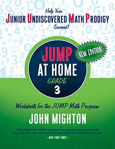9780887849763: JUMP at Home, Grade 3: Worksheets for the JUMP Math Program