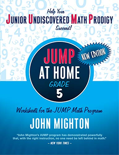 9780887849787: JUMP at Home, Grade 5: Worksheets for the JUMP Math Program