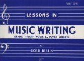 9780887970283: Lessons in Music Writing: Part 1