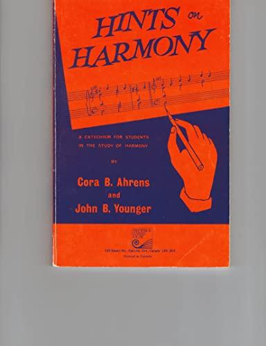 Hints on Harmony: Ahrens, Cora B.,