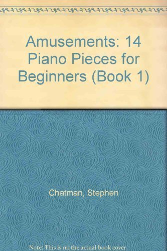 9780887973079: Amusements: 14 Piano Pieces for Beginners (Book 1)