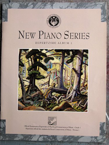 9780887974168: New Piano Series Repertoire Album 1 Royal Conservatory of Music. (New Piano Series)