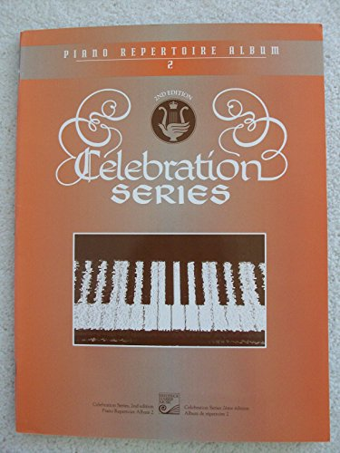 9780887974199: Piano Repertoire Album Book 2 Celebration Series