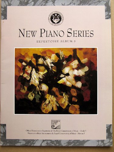 9780887974243: New Piano Series Repertoire Album 5. (New Piano Series Royal Conservatory of Music)