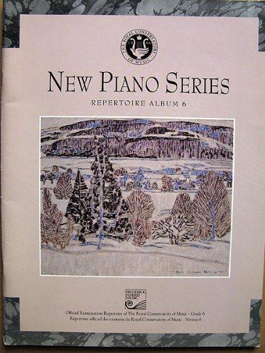 9780887974267: New Piano Series, Repertoire Album 6