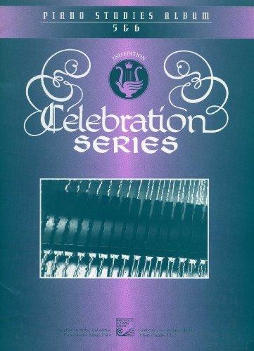 9780887974410: Celebration Series Piano Studies Album 5 & 6