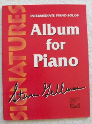 9780887975103: Album for Piano Intermediate Piano Solos