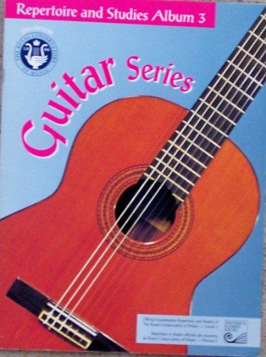 9780887975936: 'Guitar Repertoire Album #3 (2nd Ed. Guitar Series)'