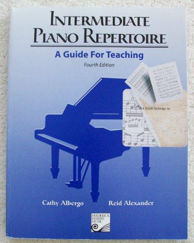 9780887977169: Intermediate Piano Repertoire: A Guide for Teaching, 4th Edition