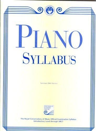9780887977428: Piano Syllabus