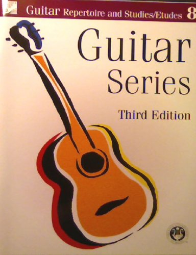 9780887978296: R C Guitar Series Rep Studies Album 8 La
