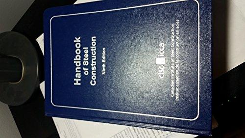 Handbook of Steel Construction- Ninth Edition: No Author