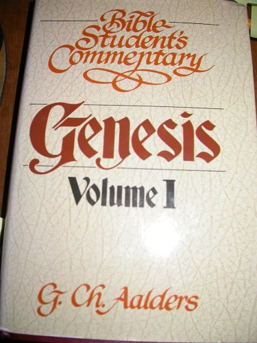 9780888151018: Genesis Volume 1 (Bible Student's Commentary)