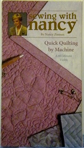 9780888218414: Sewing with Nancy Quick Quilting by Machine