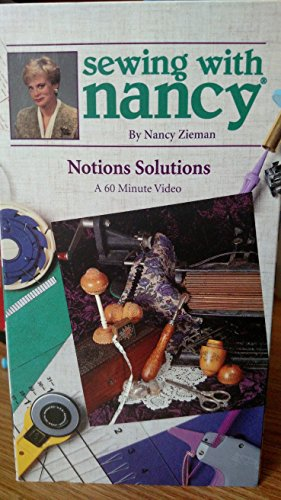 9780888218568: Sewing with Nancy - Notions Solutions