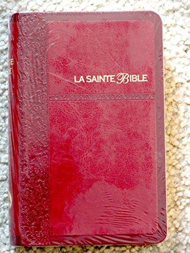 9780888349408: French Bible Burgundy Imitation Leather, Segond 1910 Bible