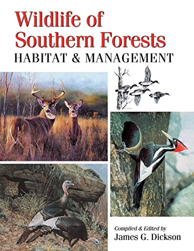 9780888390172: Wildlife of Southern Forests: habitat & management