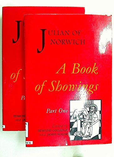 Book of Showings (2 parts) (Studies and Texts) (9780888440358) by Julian of Norwich