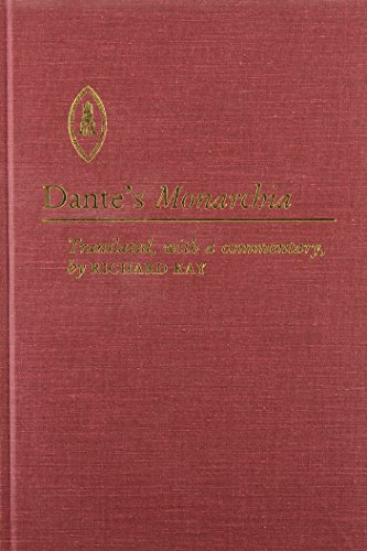 Dante's Monarchia (Studies and Texts)