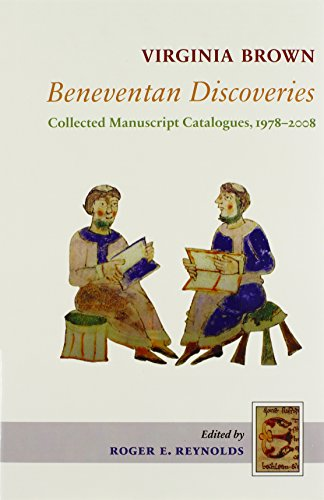 9780888441799: Beneventan Discoveries: Collected Manuscript Catalogues, 1978-2008 (Studies and Texts)