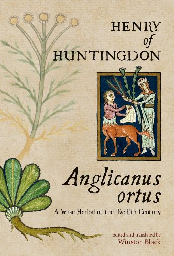 9780888441805: Anglicanus Ortus: A Verse Herbal of the Twelfth Century (Studies and Texts. (Pontifical Institute of Medieval Studies)