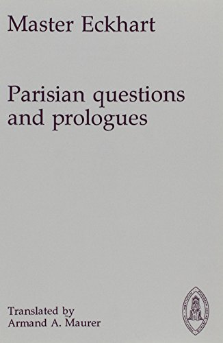 9780888442642: Parisian Questions and Prologues