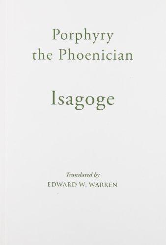 9780888442659: Isagoge (Mediaeval Sources in Translation)