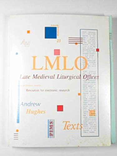 9780888443724: Late Medieval Liturgical Offices - Texts (Subsidia Mediaevalia)