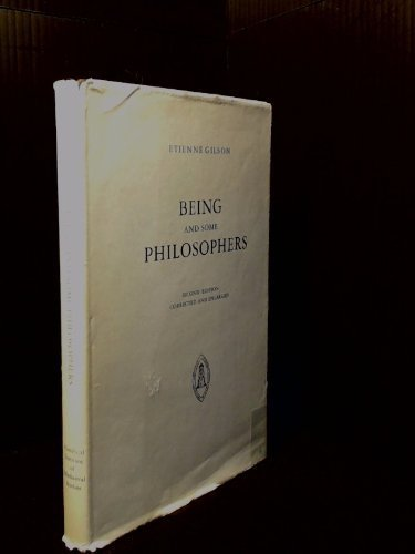 9780888444011: Being and Some Philosophers