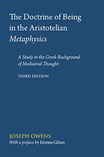 9780888444097: Doctrine of Being in the Aristotelian Metaphysics