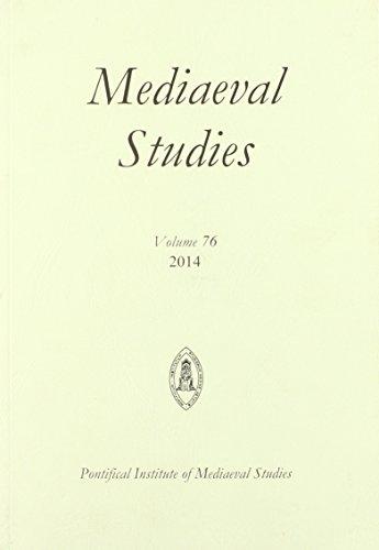 9780888446787: Mediaeval Studies 76 (2014)