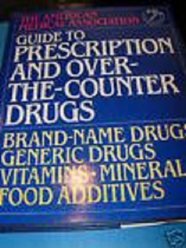 9780888501622: Guide to prescription and over-the-counter drugs