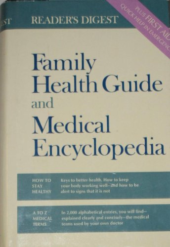 9780888501714: Reader's digest family health guide and medical encyclopedia