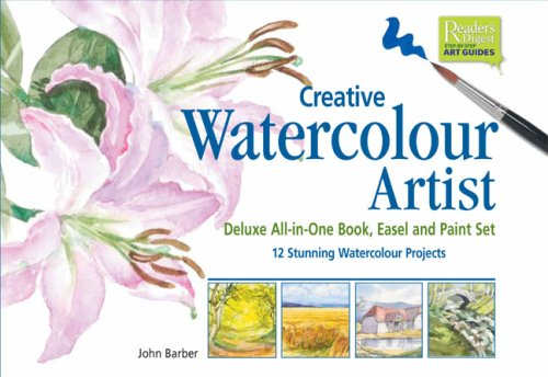 9780888508782: Creative Watercolour Artist: Deluxe All-in-One Book, Easel and Paint Set 12 Stunning Watercolor Projects